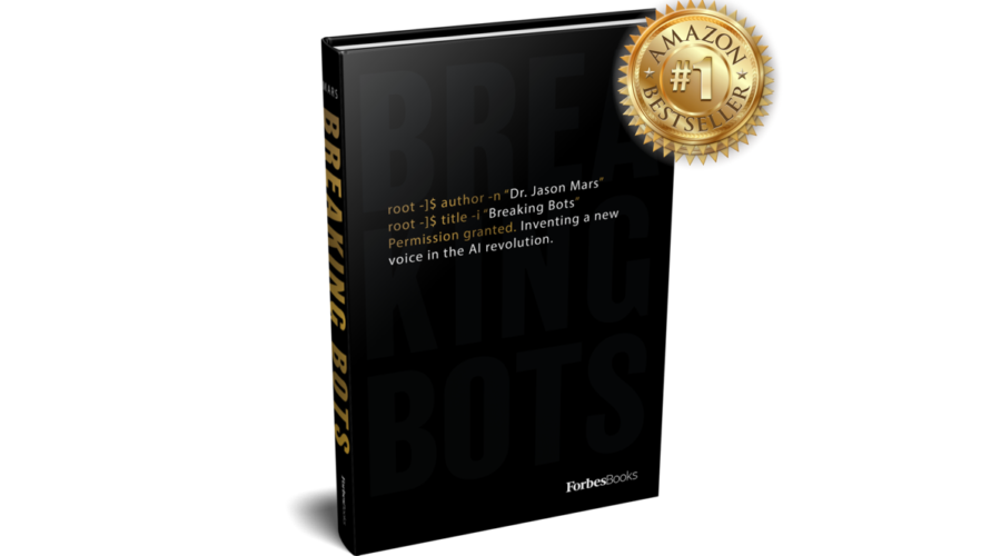 Breaking Bots reaches Amazon #1 Bestseller